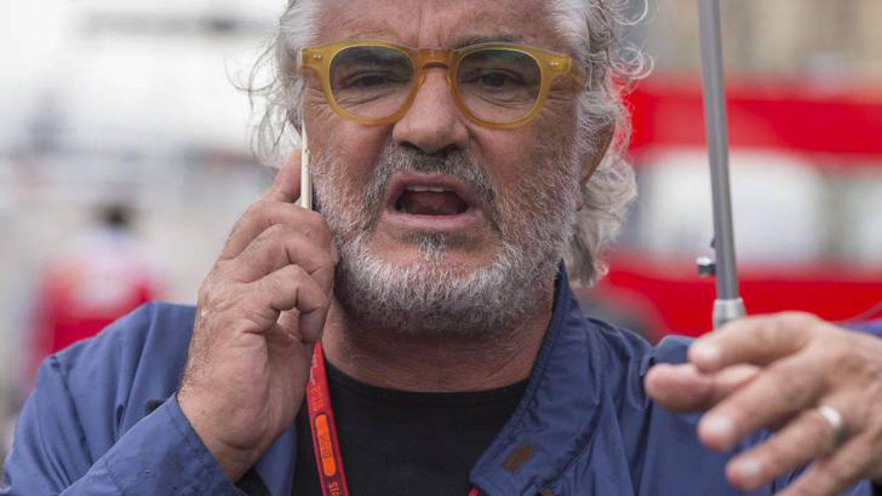 """Briatore contro Gregoraci: """"Se a 40 anni va al Gf Vip per stare coi ragazzini..."""""""