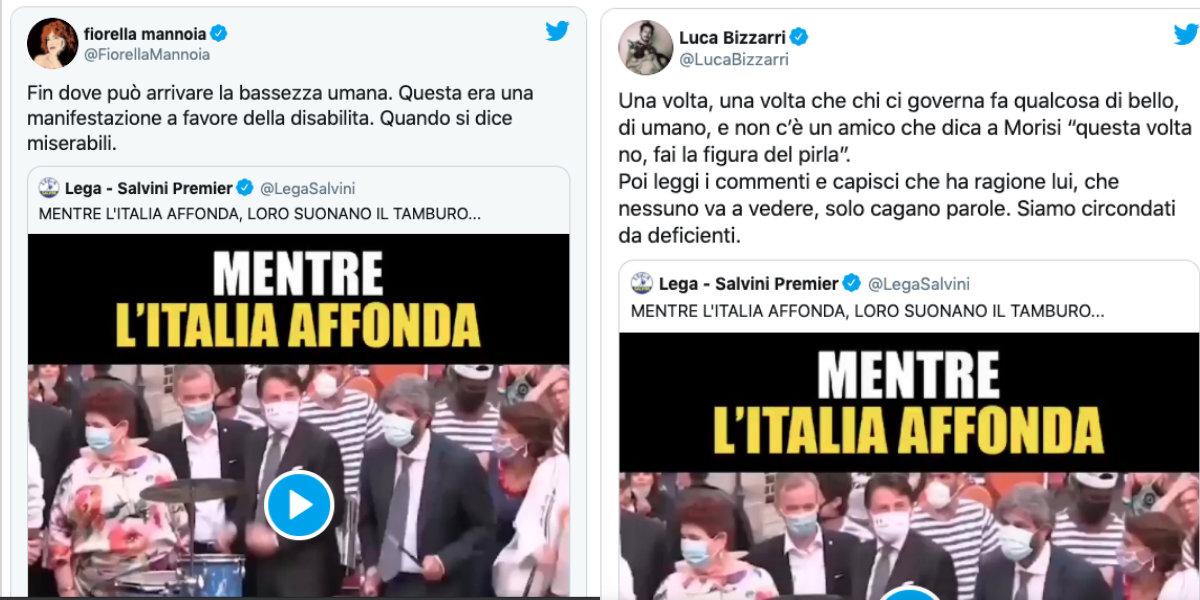 Mentre l'Italia affonda