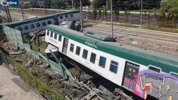 carnate deragliamento treno