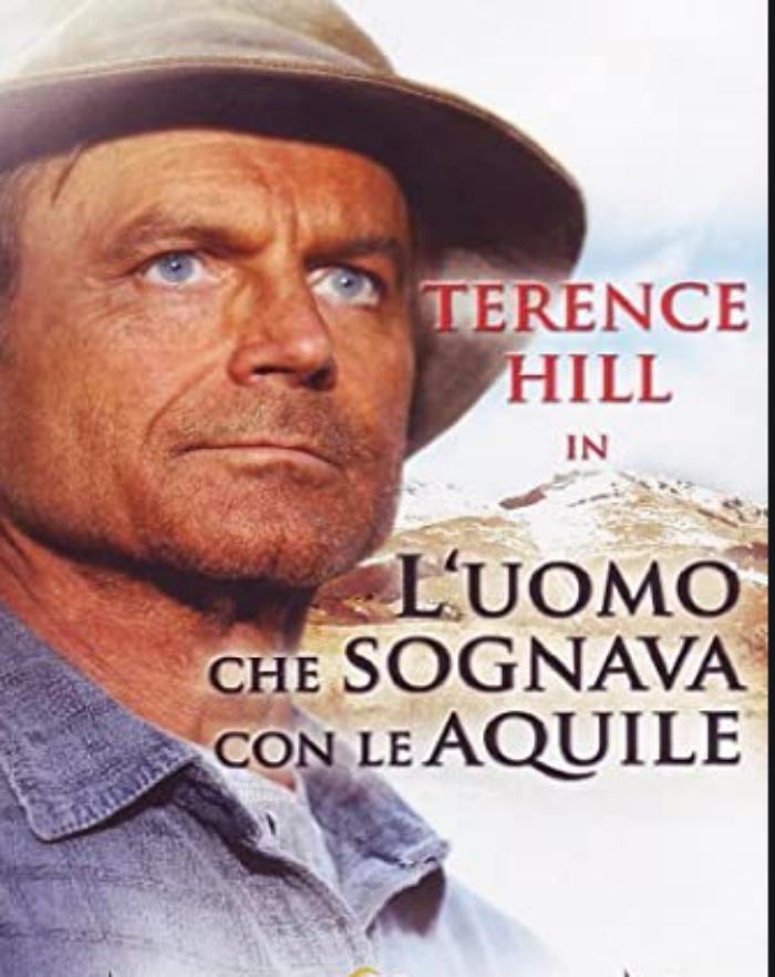 """Stasera in Tv oggi 13 Agosto 2020: Terence Hill in """"L'uomo che sognava con le aquile"""""""