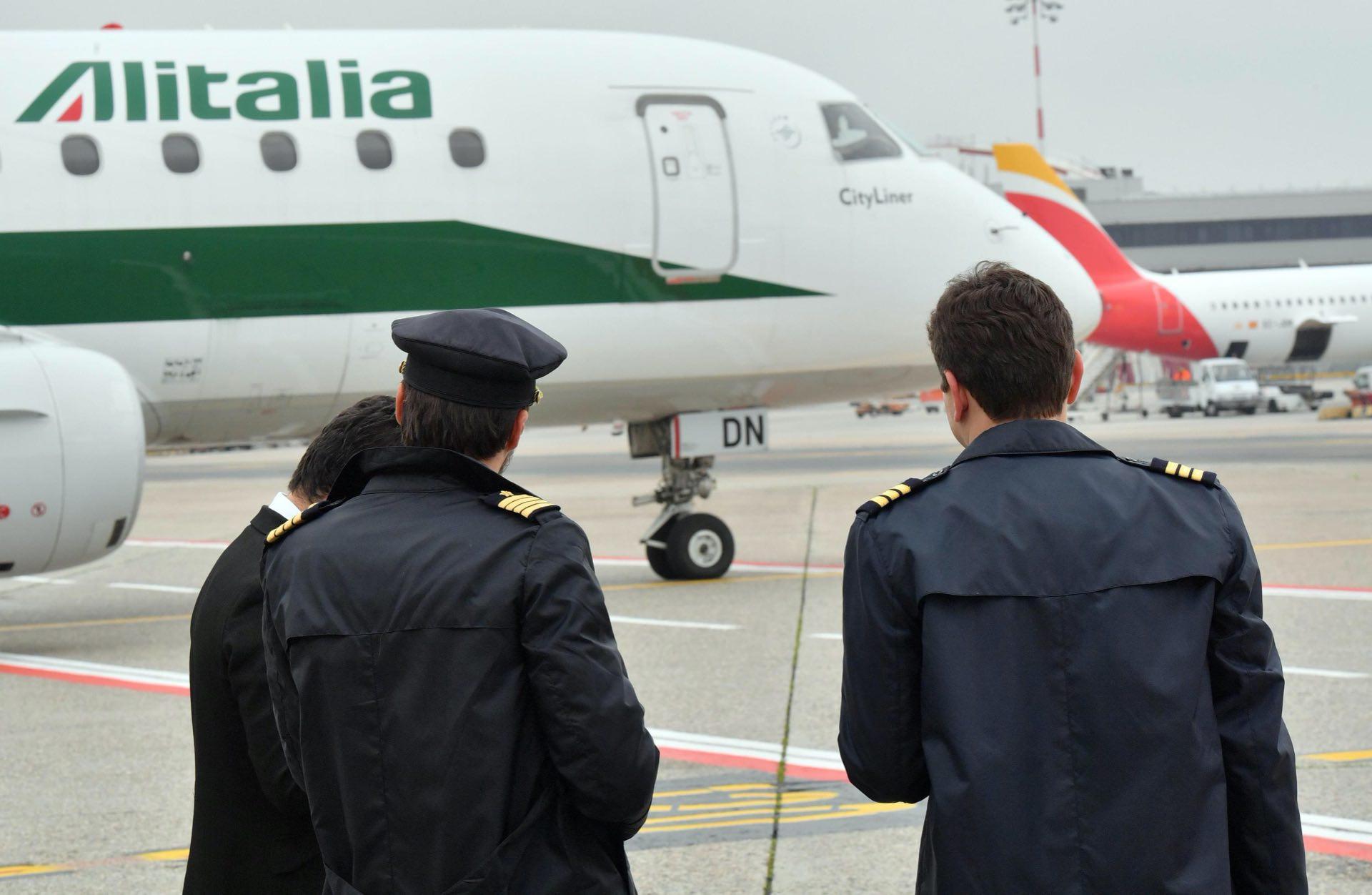 Matteo Salvini su Alitalia