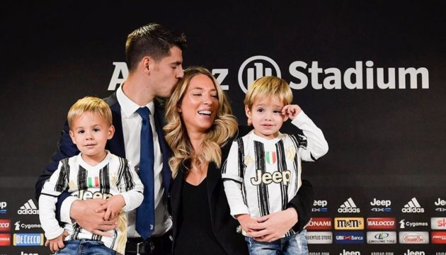 Alvaro Morata e Alice Campello genitori per la terza volta: la foto del piccolo Edoardo
