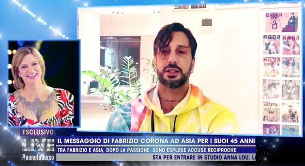 Asia Argento Fabrizio Corona
