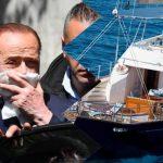 Silvio Berlusconi panfilo Murdoch