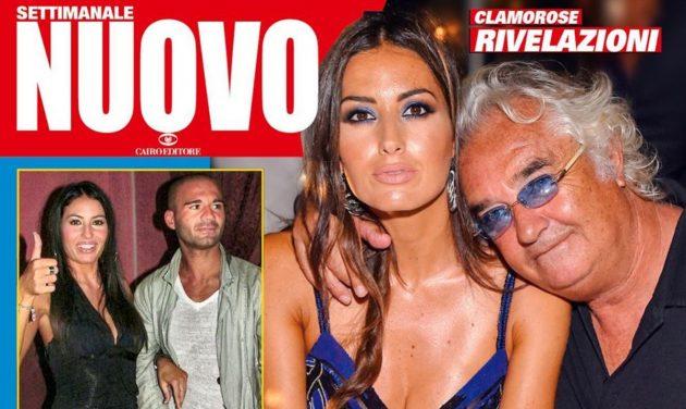 Elisabetta Gregoraci e Briatore, ex agente: «Ho avuto un flirt con lei. Non sposò Flavio per amore»