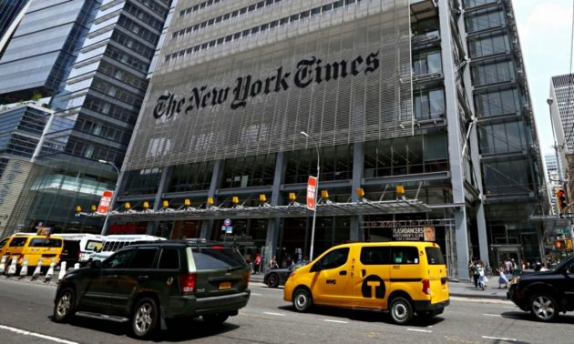 New York Times storia