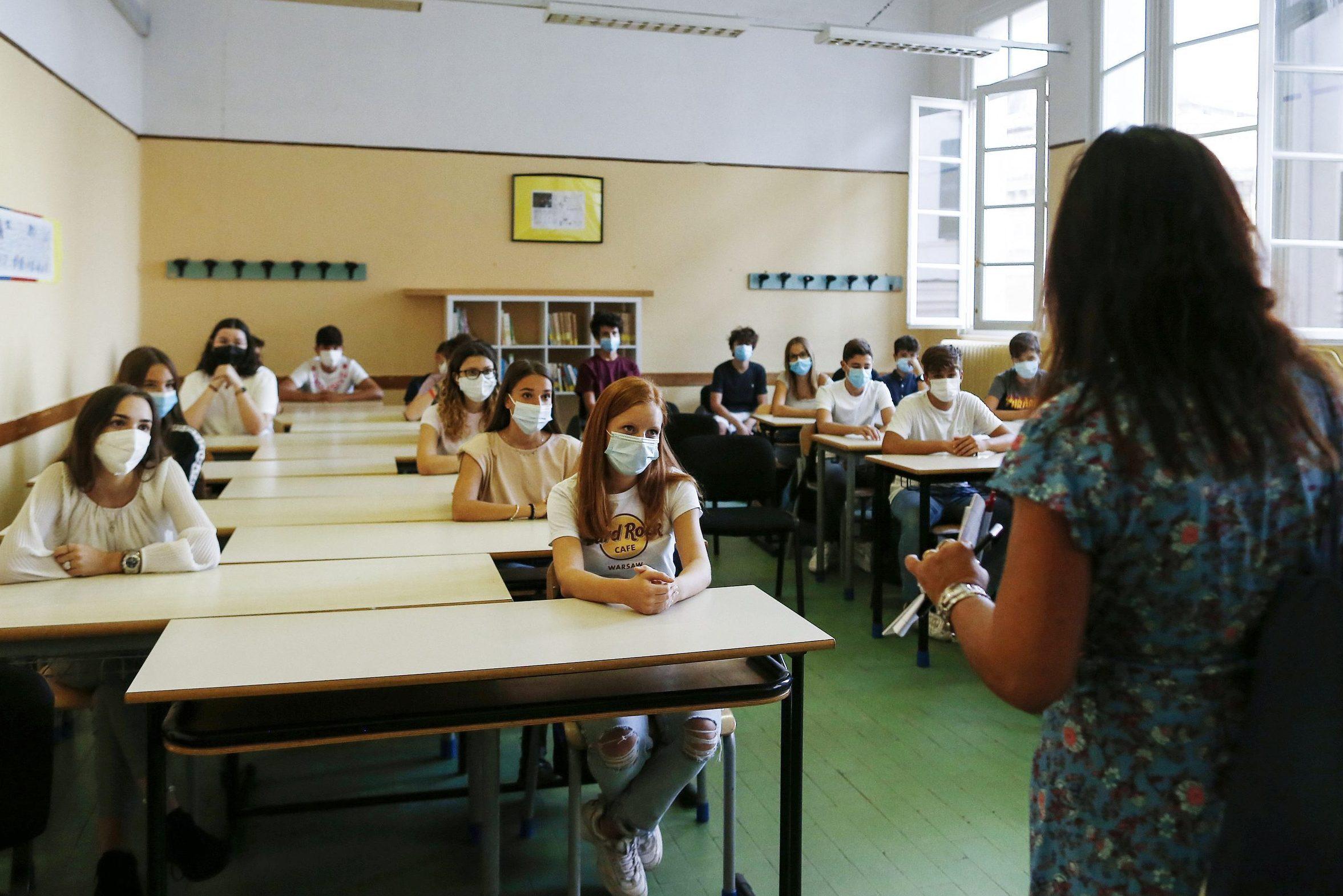 coronavirus scuola prima settimana