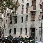 milano esplosione appartamento