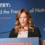 Giorgia Meloni presidente dei Conservatori e riformisti europei