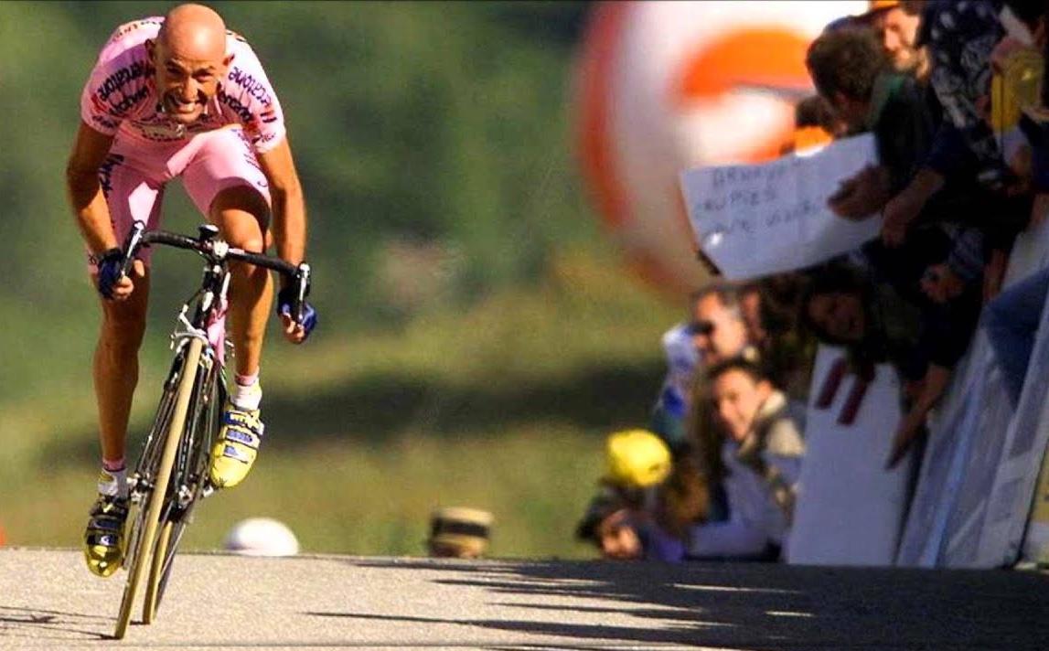 Ciclismo, inaugurato il Muro del Pirata dedicato a Pantani - Sportmediaset
