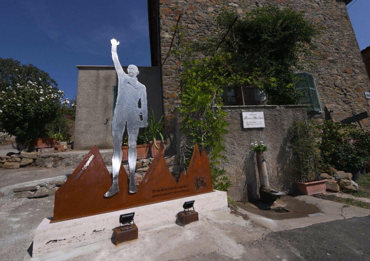 """Pantani""""Il Muro del Pirata"""""""