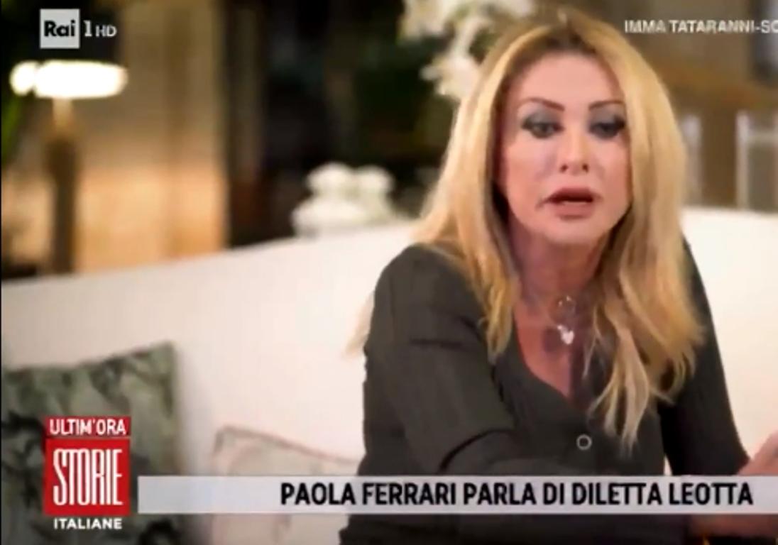 DILETTA LEOTTA ATTACCATA DA PAOLA FERRARI