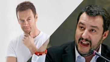 Rocco Siffredi e Matteo Salvini