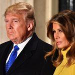 Donald Trump e melania positivi