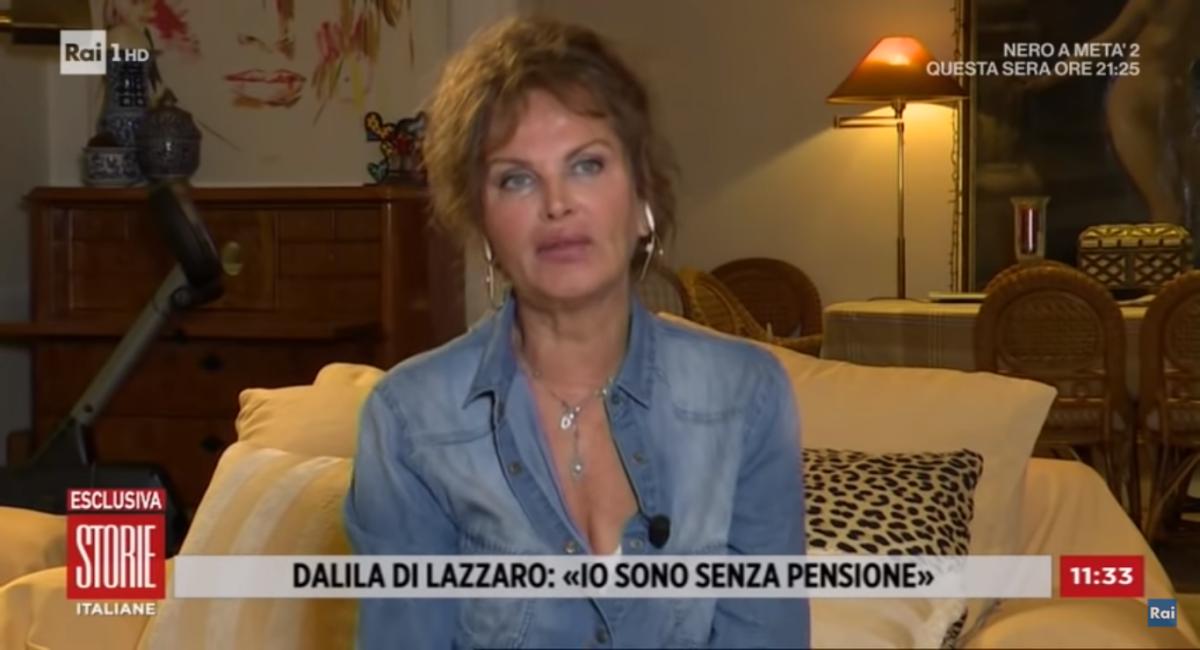 Dalila Di Lazzaro malattia