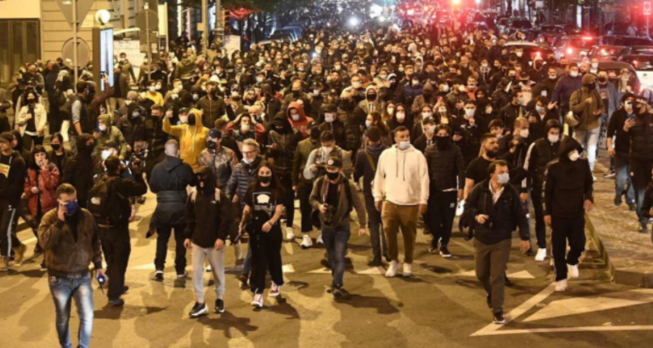 Napoli protesta