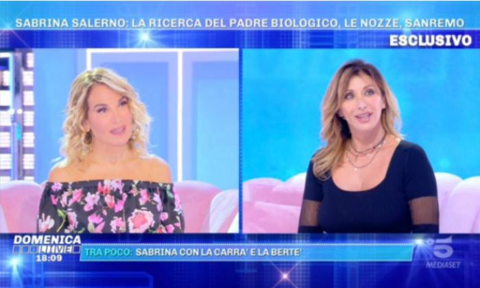 Sabrina Salerno Domenica Live
