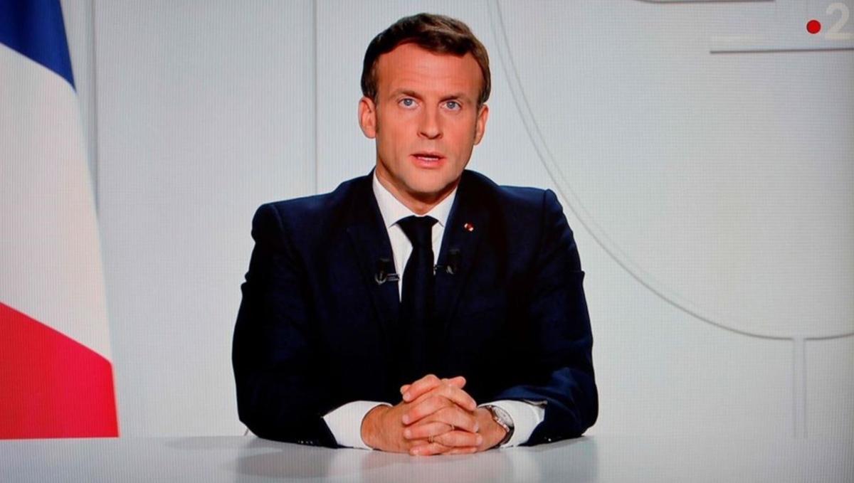 lockdown in francia discorso macron