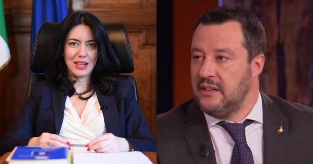 Azzolina querela Salvini