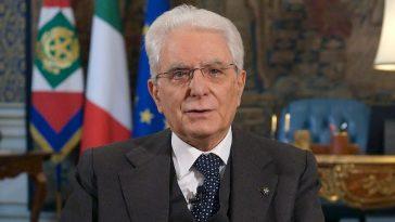 Sergio Mattarella Covid