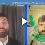 Lorenzo Covid a 35 anni