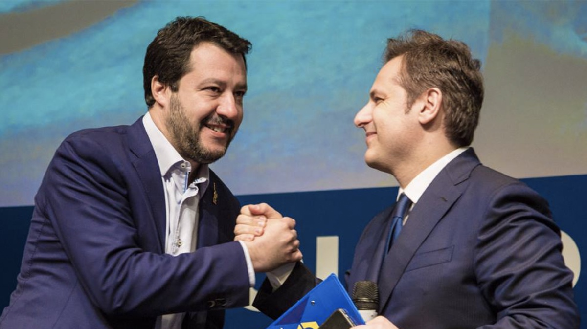 Matteo Salvini e Armando Siri