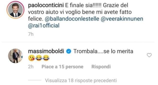Paolo Conticini Massimo Boldi