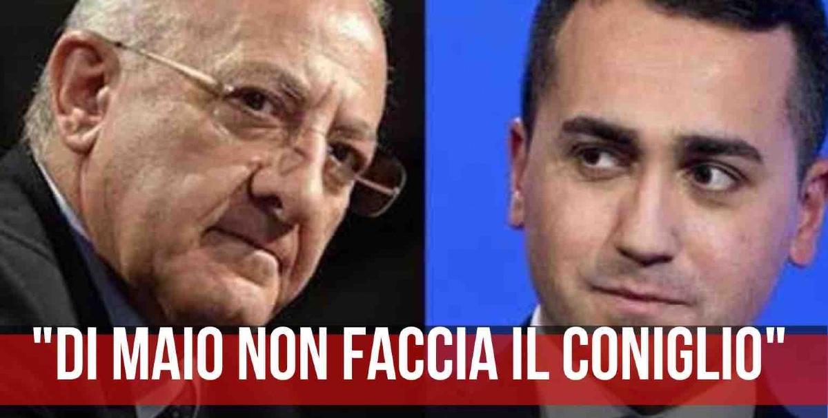 Vincenzo De Luca Luigi Di Maio