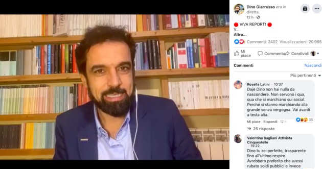 Dino Giarrusso europarlamentare m5s