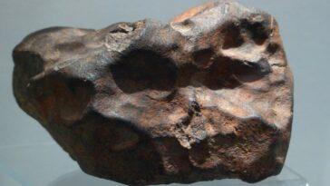 Indonesia meteorite