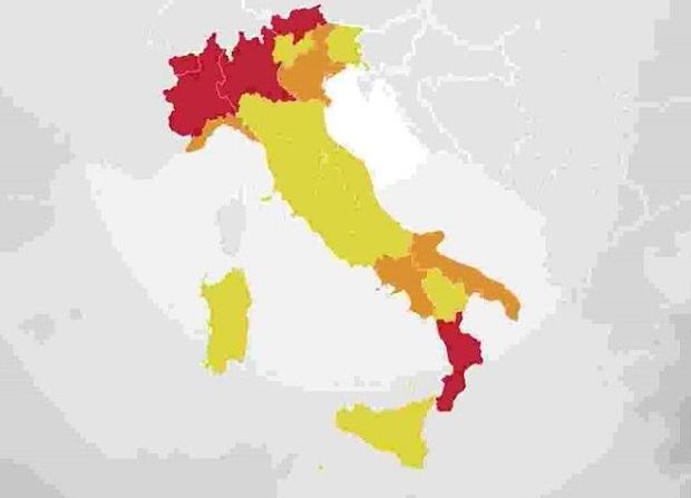 Regioni a rischio