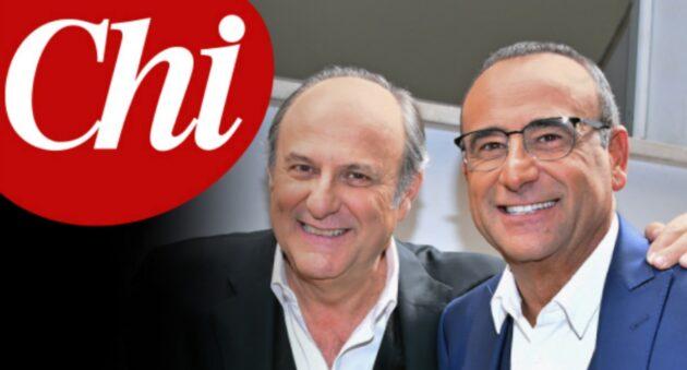Gerry Scotti e Carlo Conti