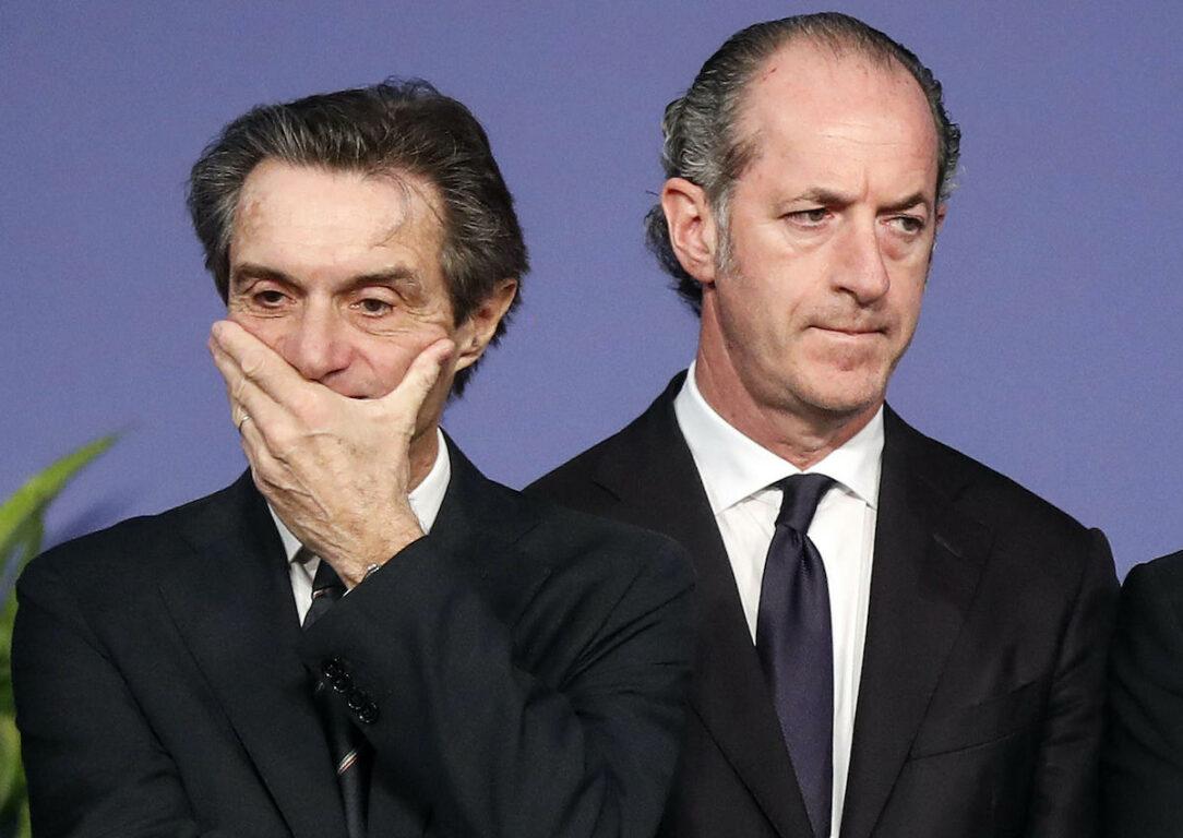 I governatori delle regioni: Attilio Fontana e Luca Zaia