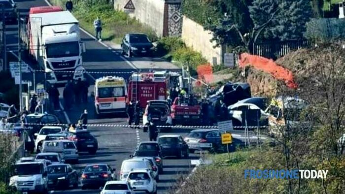 incidente Frosinone