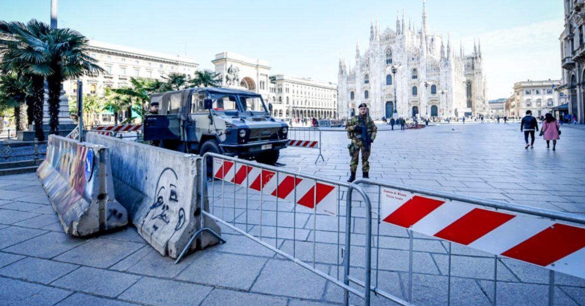 Lombardia lockdown