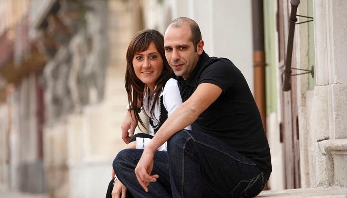 Mariangela Eboli e Checco Zalone
