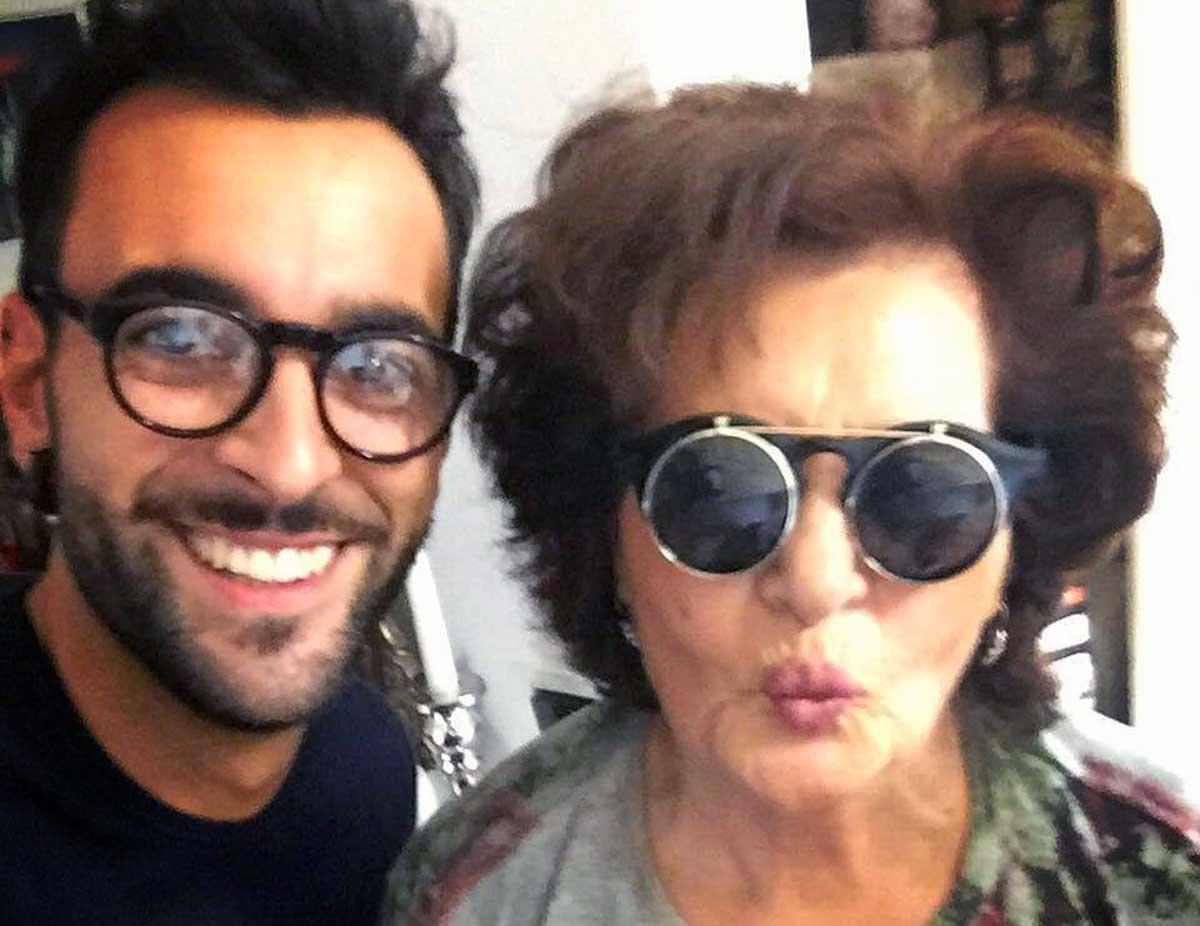 Marco Mengoni e sua nonna