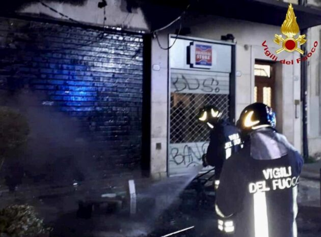 Padova bar fiamme
