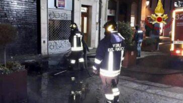 Padova news bar fiamme