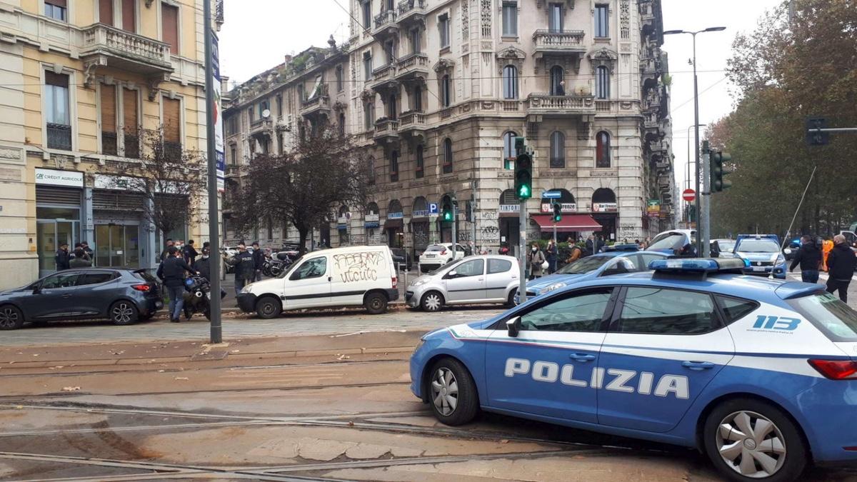 Rapina Milano