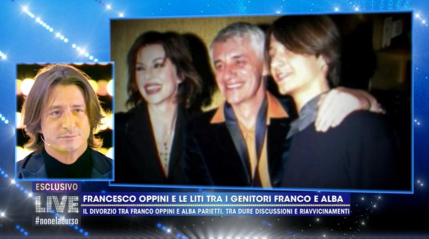 LIve: non è la D'Urso Francesco Oppini