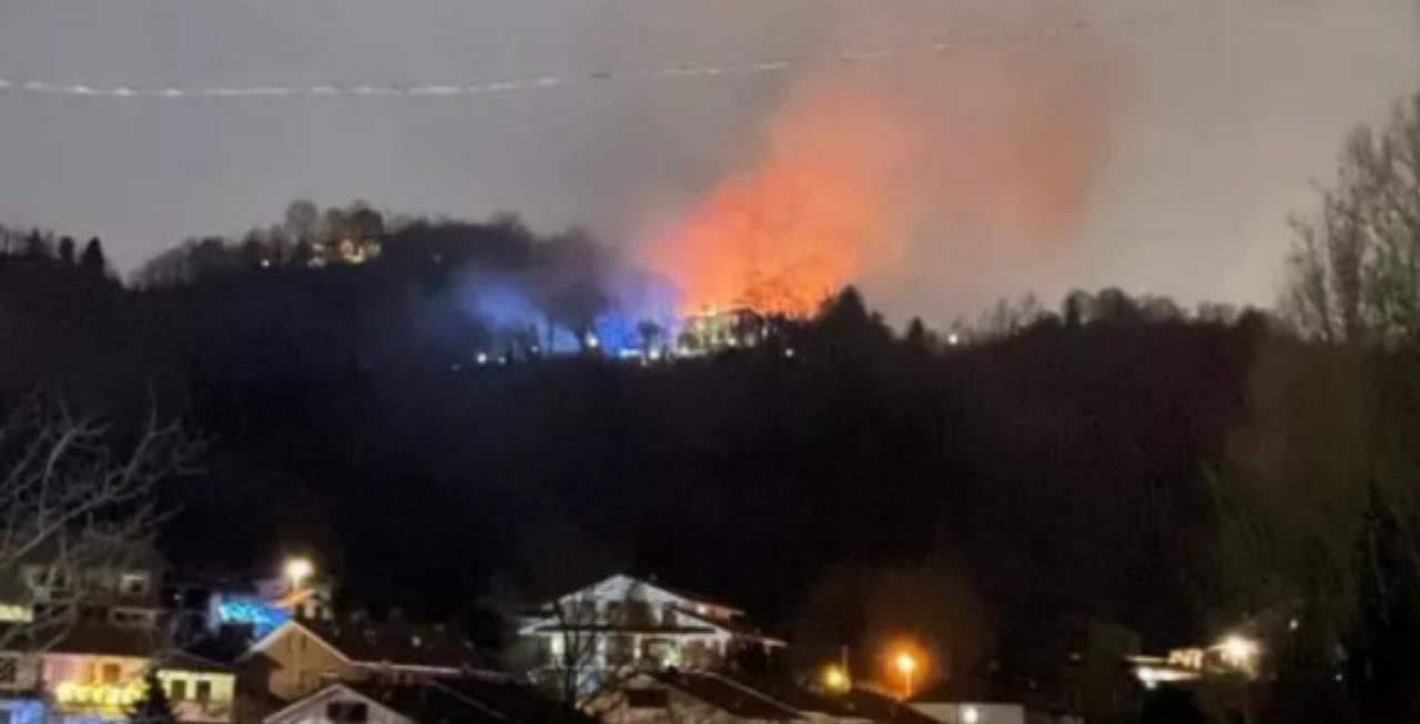 Incendi villa Cordero Montezemolo