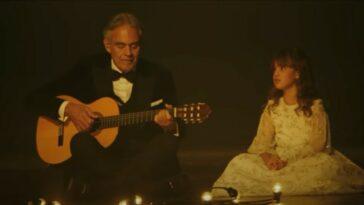 Andrea Bocelli figlia