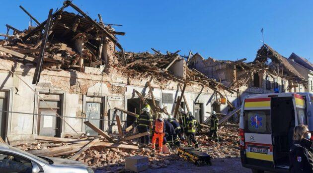 Croazia terremoto