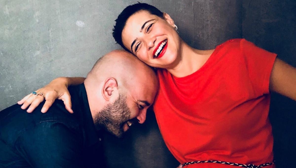 Giuliano Sangiorgi e Ilaria Macchia