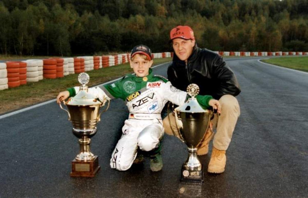 Mick e Michael Schumacher