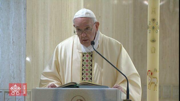 Papa Francesco natale 2020