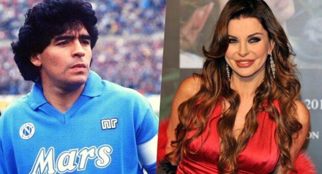 Alba Parietti Maradona