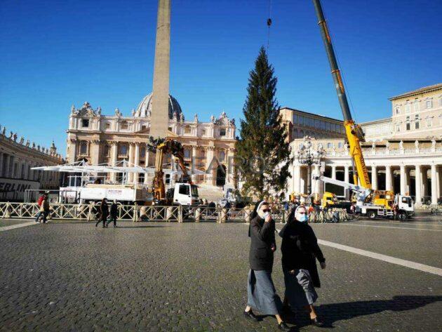 Presepe Vaticano 2020