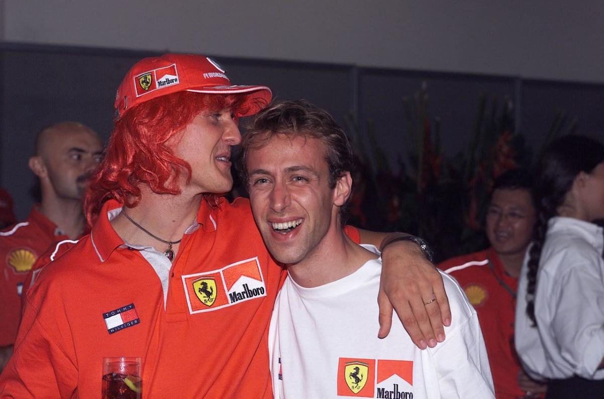 Michael Schumacher Luca Badoer